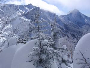 11年2月硫黄岳 055