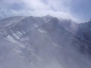11年2月硫黄岳 039