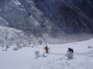 11年2月硫黄岳 048