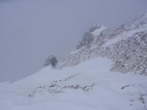 11年2月硫黄岳 032