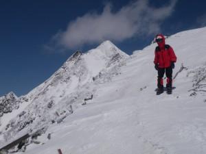 IMGP0088 稜線の下山jpg