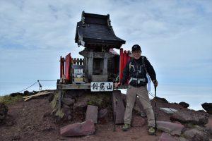 利尻岳山頂にて