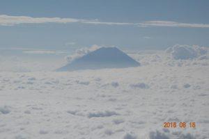 西峰からの富士